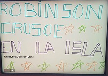 ROBINSON CRUSOE EN LA ISLA