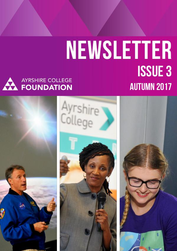Ayrshire College Foundation Newsletter lssue 3