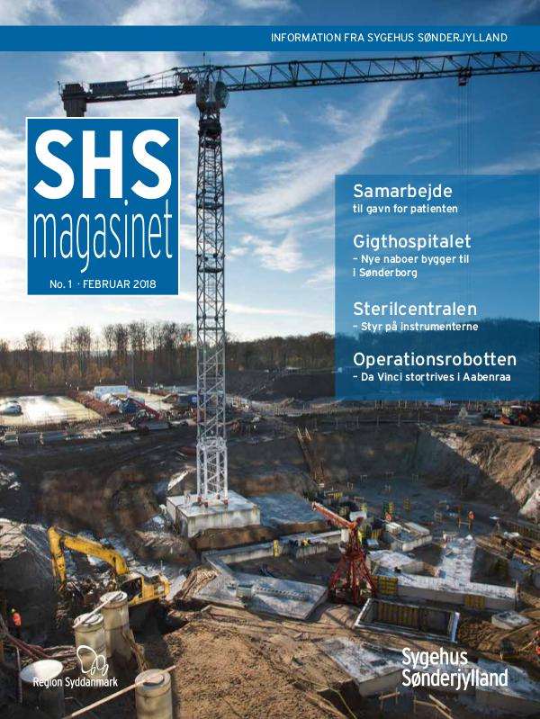 SHS-magasinet Nr. 1 - Februar 2018