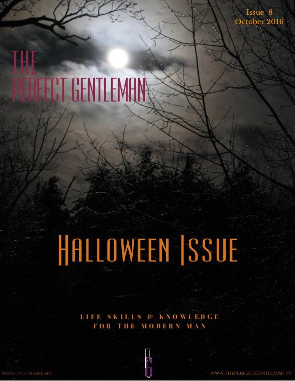 The Perfect Gentleman Issue 8 - Halloween