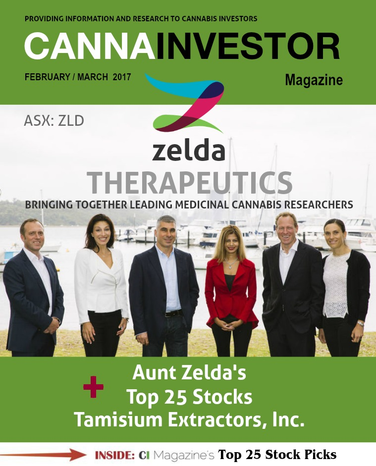 CANNAINVESTOR Magazine February / March 2017
