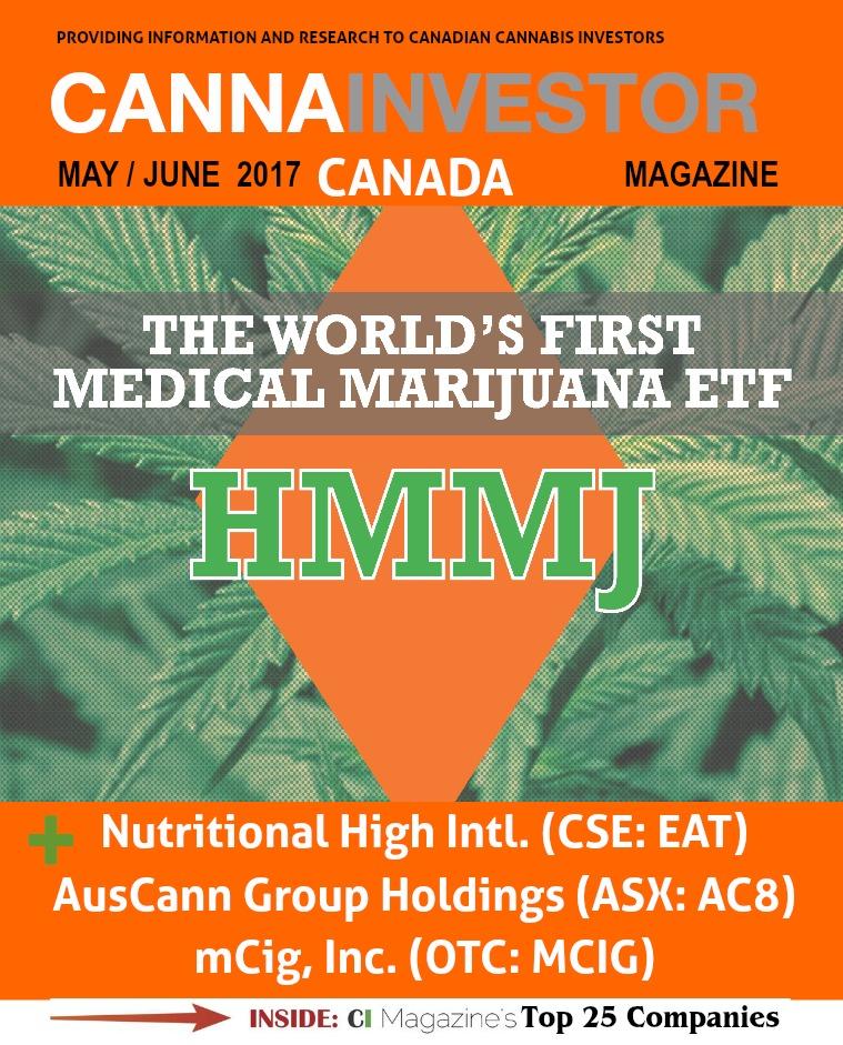 Canadian CANNAINVESTOR Magazine May 2017