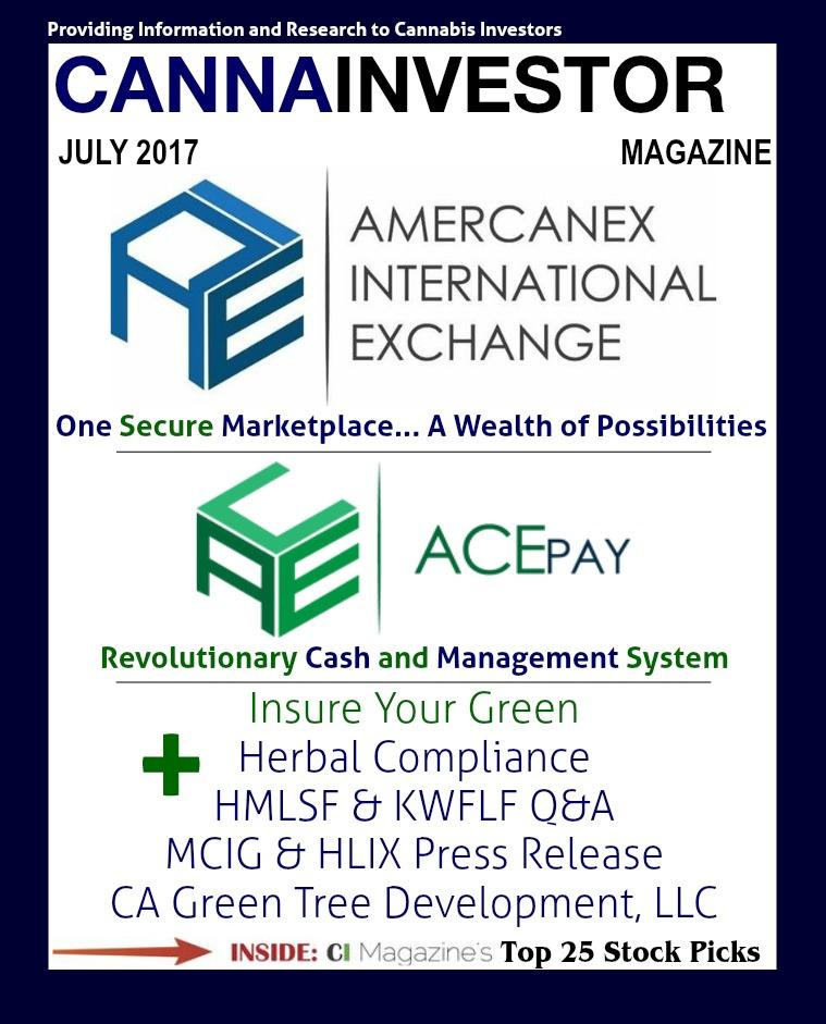 CANNAINVESTOR Magazine July 2017
