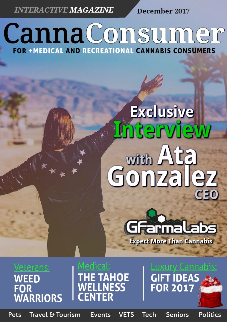 CANNAConsumer Magazine December 2017