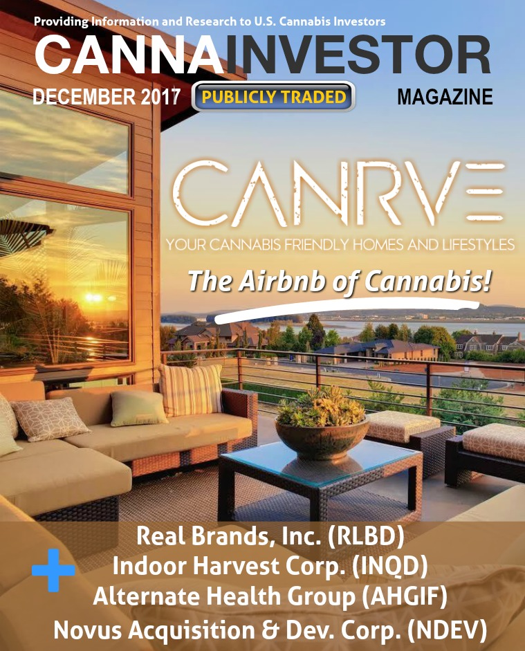 CANNAINVESTOR Magazine U.S. Publicly Traded December 2017