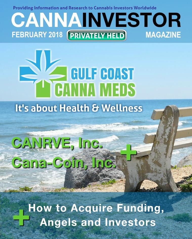 CANNAINVESTOR Magazine U.S. Privately Held Companies February 2018