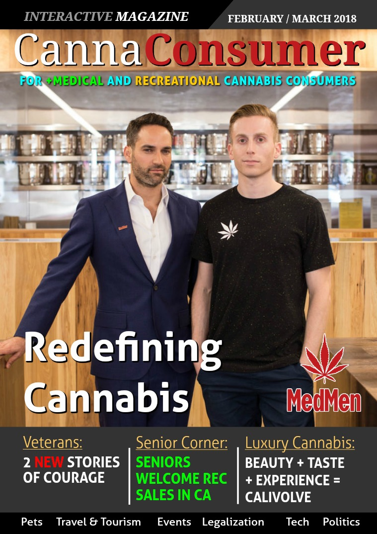 CANNAConsumer Magazine FEBRUARY / MARCH 2018