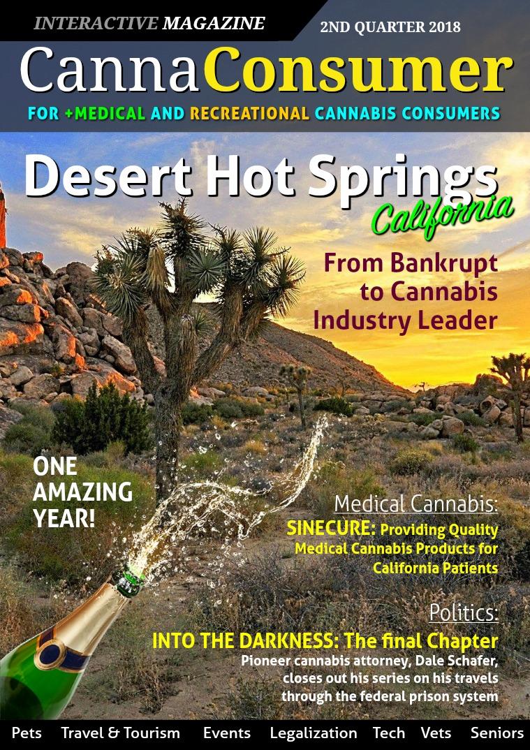 CANNAConsumer Magazine 2nd Quarter 2018