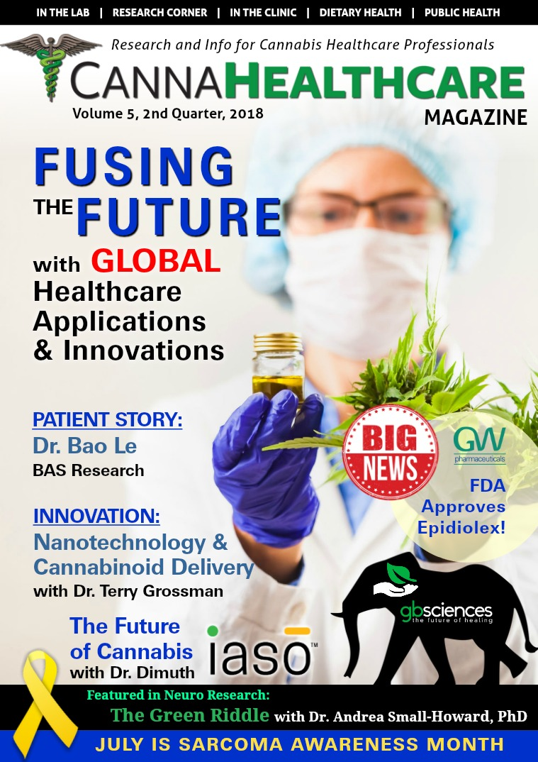 CANNAHealthcare Magazine Volume 5, 2nd Quarter, 2018
