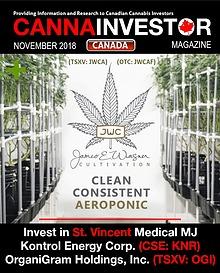 Canadian CANNAINVESTOR Magazine