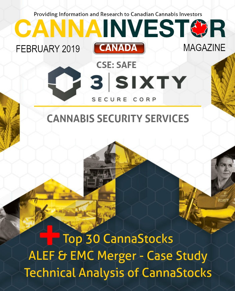 Canadian CANNAINVESTOR Magazine February 2019