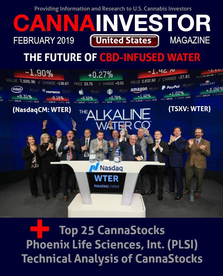 CANNAINVESTOR Magazine U.S. Publicly Traded February 2019