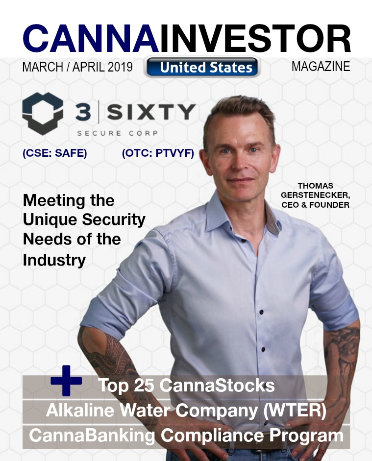 CANNAINVESTOR Magazine Unites States March / April 2019