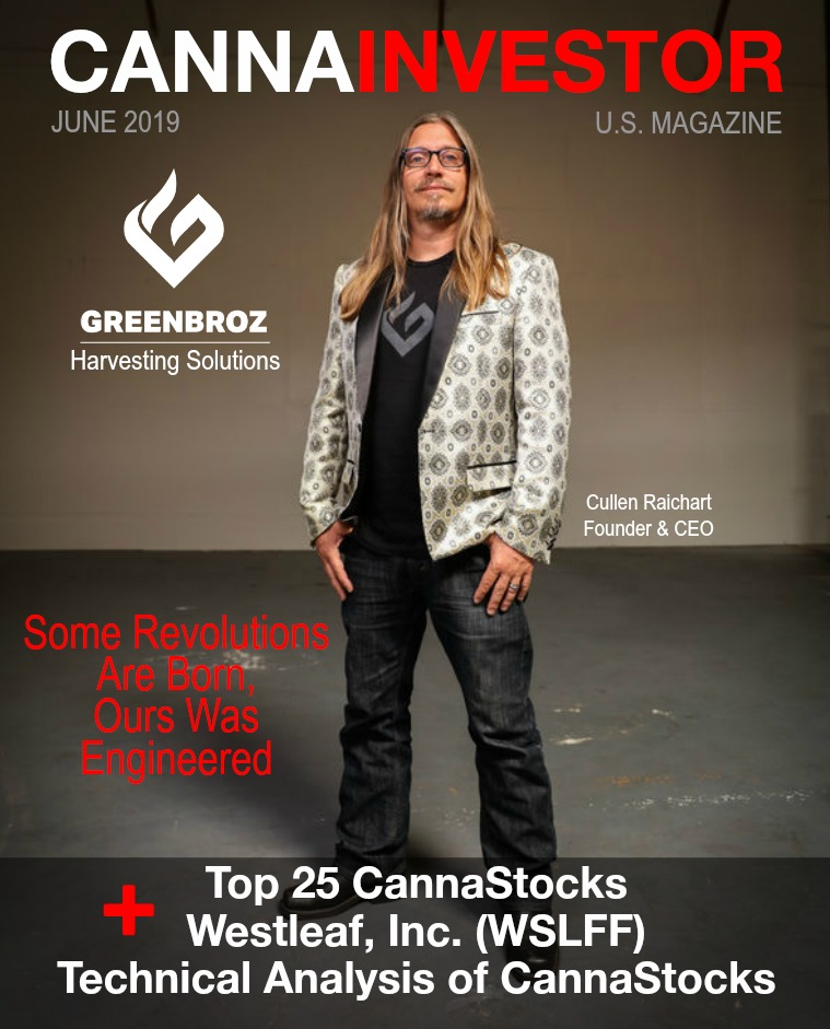CANNAINVESTOR Magazine U.S. Publicly Traded June 2019