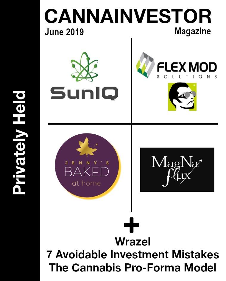 CANNAINVESTOR Magazine U.S. Privately Held June 2019