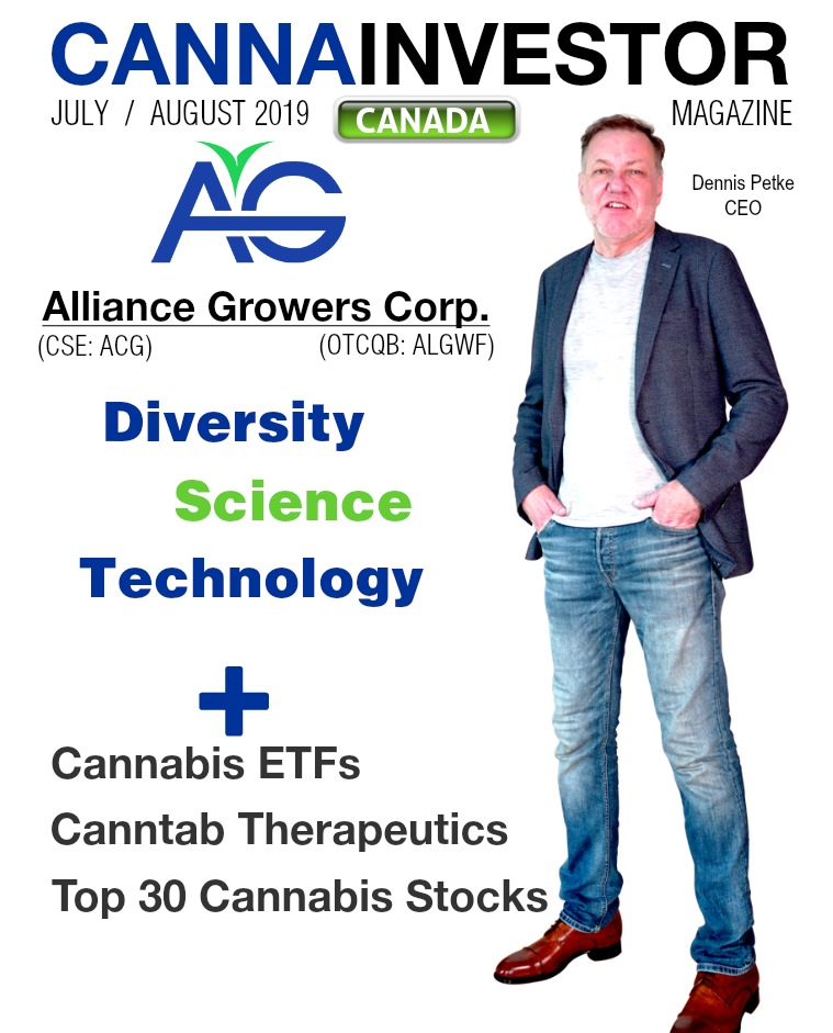 Canadian CANNAINVESTOR Magazine July / August 2019