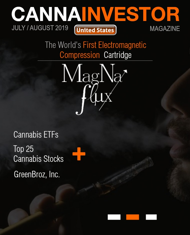 CANNAINVESTOR Magazine U.S. Publicly Traded July / August 2019