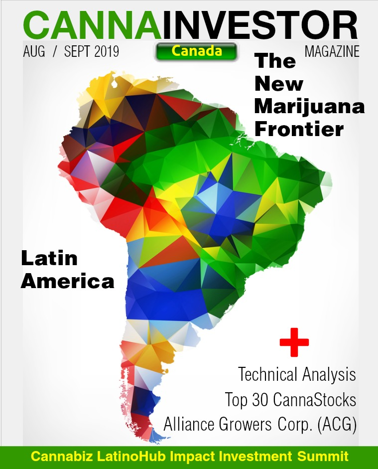 Canadian CANNAINVESTOR Magazine August / September 2019