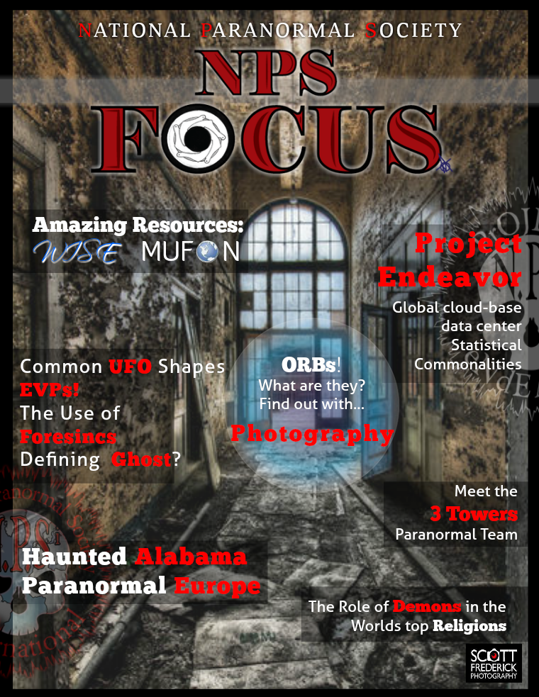 National Paranormal Society NPS FOCUS June 2016