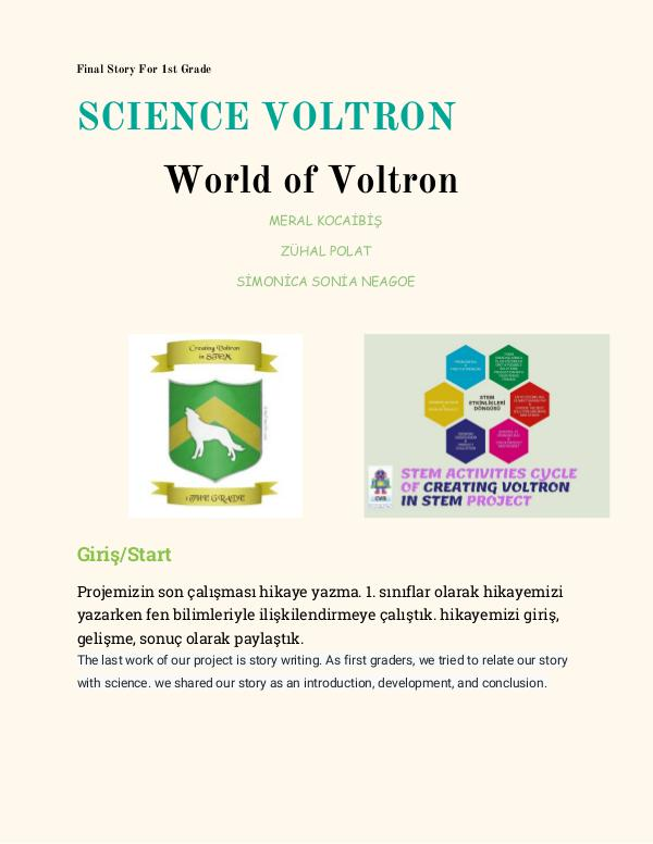 THE FINAL STORY BOOK OF VOLTRON VOLTRONS STORY BOOK- STORYS OF FINAL DOCS-PDF