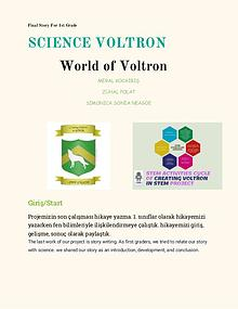 THE FINAL STORY BOOK OF VOLTRON