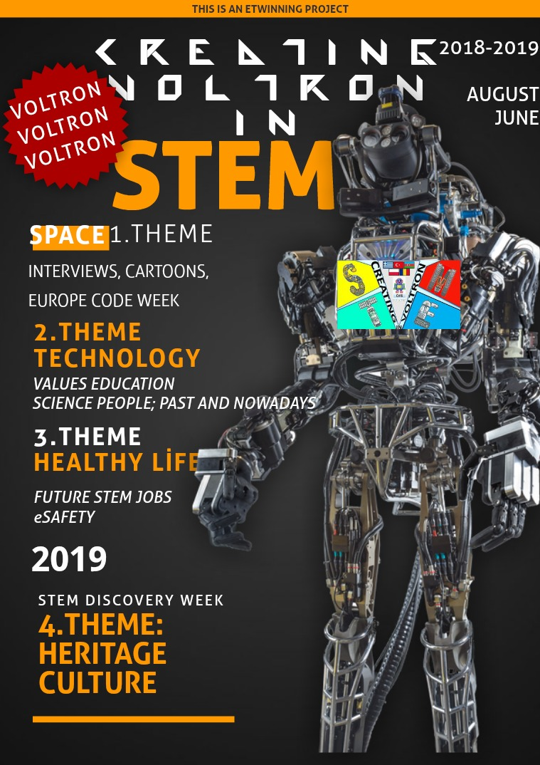 EBOOK OF FINAL PRODUCT FOR VOLTRON PROJECT Final Creating Voltron İn STEM for English