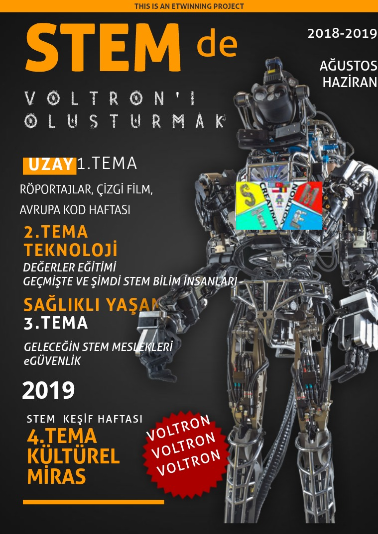 EBOOK OF FINAL PRODUCT FOR VOLTRON PROJECT Creating Voltron İn STEM Final Dergisi Türkçe