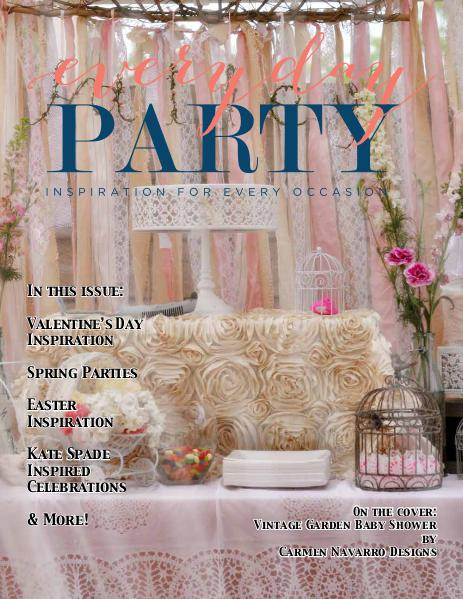 Everyday Party Magazine Spring 2016 2016