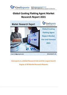 Gosreports New Study: Global Coating Flatting Agent Market Research R