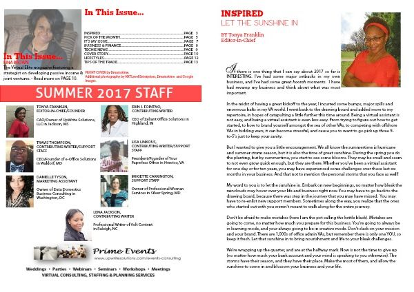 The Virtual Elite Summer 2017 - Page 2