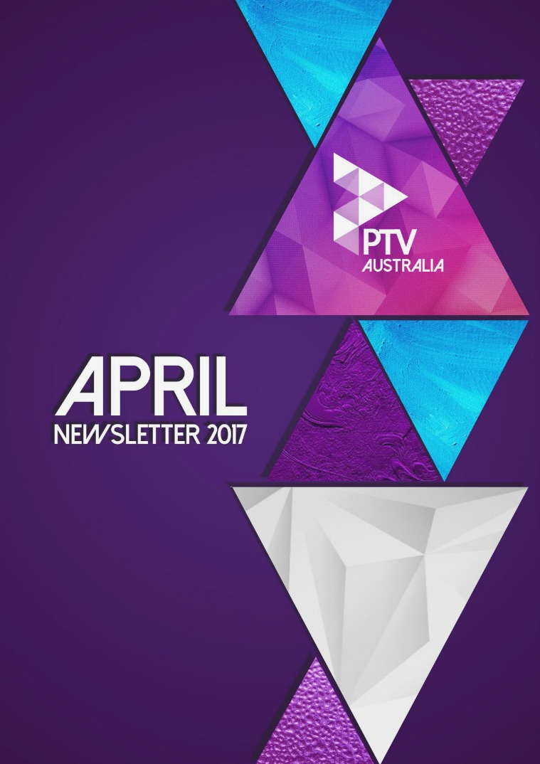 PTV Newsletter April 2017