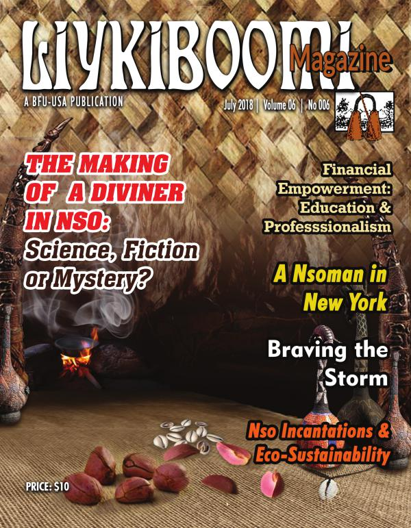Liykiboomi Magazine | An Annual BFU-USA Publication July 2018 | Volume 06 | No 006