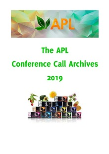 APL Recorded Conference Calls