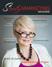 Strictly Marketing Magazine May/June 2017 Issue