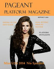 Pageant Platform Magazine Sept/Oct 2018 Issue