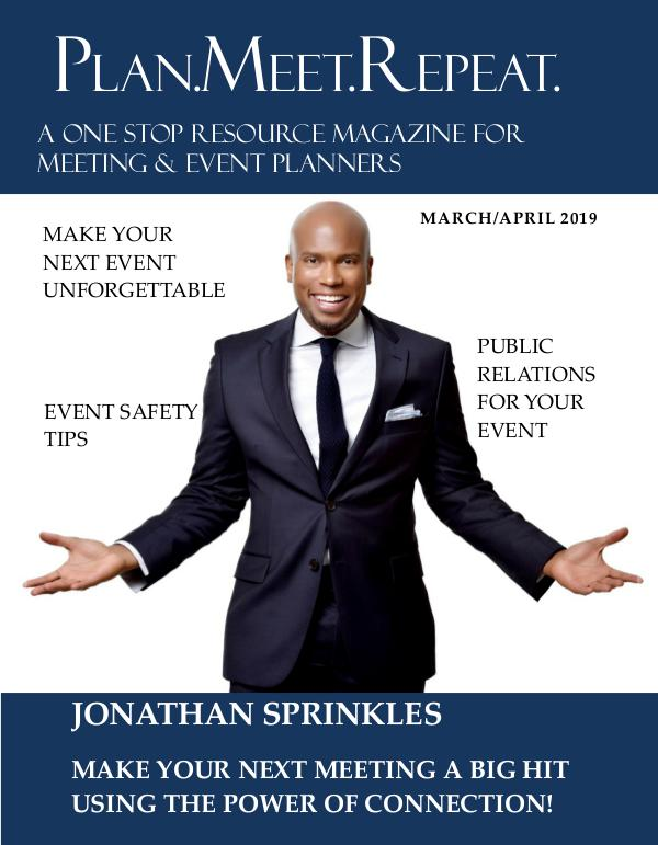 Plan.Meet.Repeat March April 2019 Issue book meet repeat march april