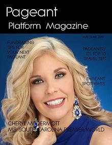 Pageant Platform Magazine May June 2019 issue