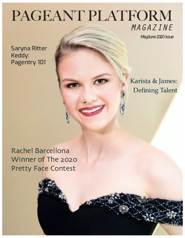 Pageant Platform Magazine May June 2020 PPM.May.June
