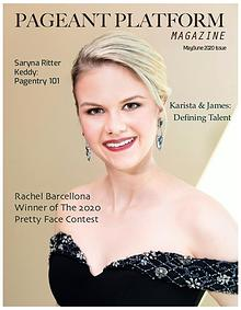 Pageant Platform Magazine May June 2020