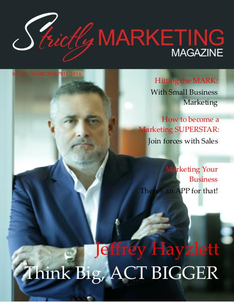 Strictly Marketing Magazine March/April 2016 3