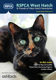 RSPCA Friends of West Hatch Newsletter
