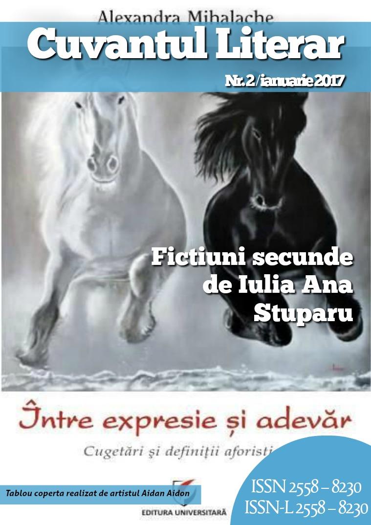 Revista Cuvantul Literar - Nr. 1 (decembrie 2016) Revista Cuvantul Literar - Nr. 2 (ianuarie 2017)