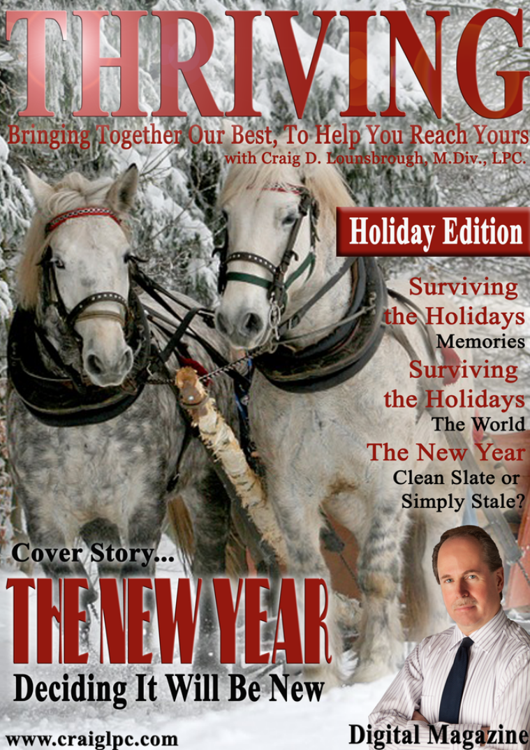 Thriving: Bringing Together Our Best, To Help You Reach Yours Holiday Edition