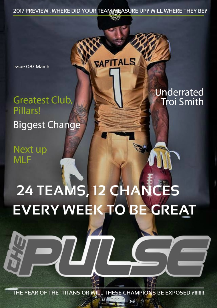 The Pulse Issue 9 2017 Season Preview