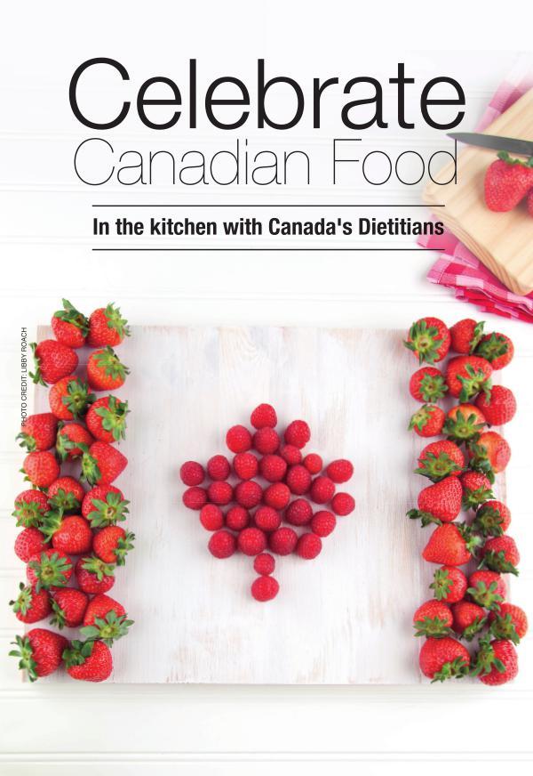 Celebrate Canadian Food Dietitian Canada150 eBookf