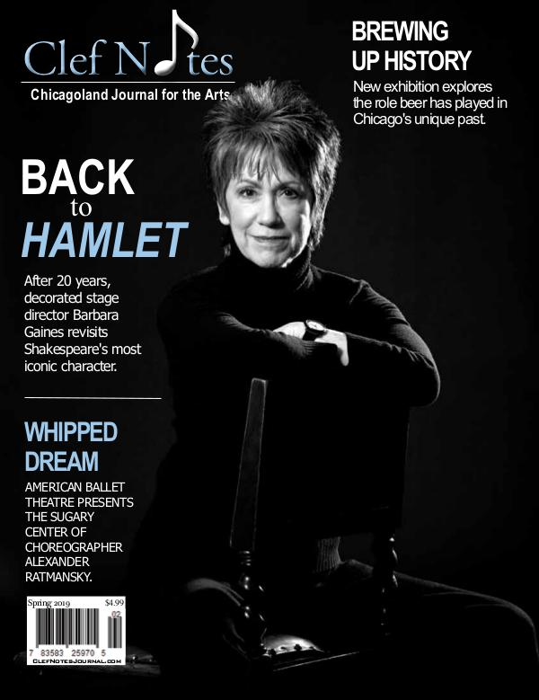 Clef Notes Chicagoland Journal for the Arts Spring 2019 Digital Edition of Clef Notes Journal