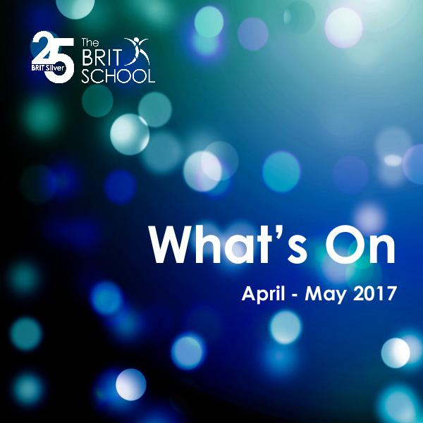 What's On April - May 2017