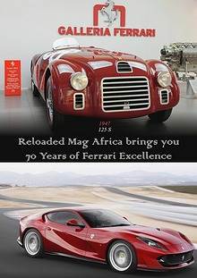 FERRARI 70 YEARS TRIBUTE