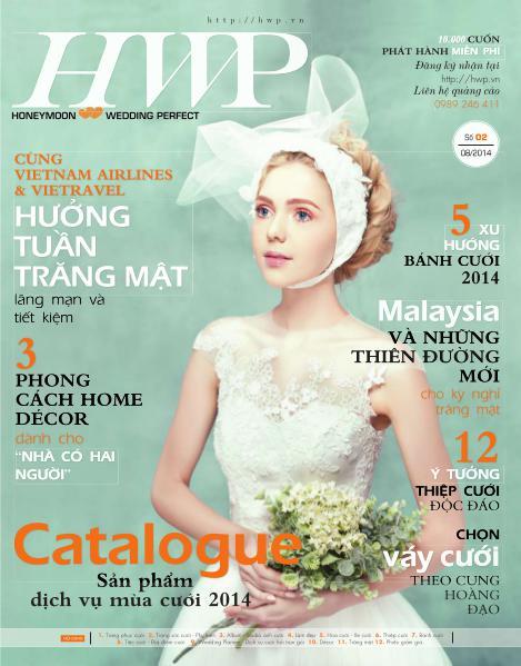 TRAVELLIVE MAGAZINE Catalogue Cưới HWP2014