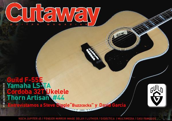 Cutaway Guitar Magazine CUTAWAY 65